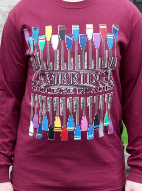Cambridge College Blades Long Sleeve T-Shirt