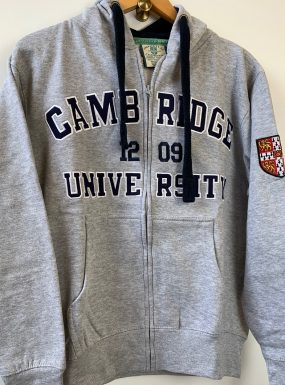 Official Cambridge University Appliqué Zip Hoody