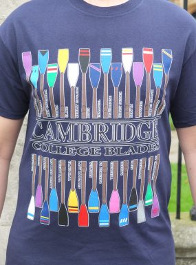Cambridge College Blades T-Shirt