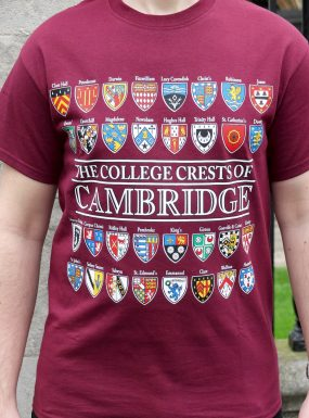 The College Crests Of Cambridge T-Shirt