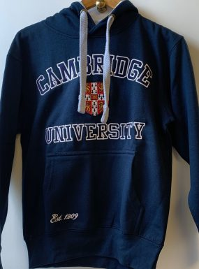 Official Cambridge University Applique Hoody – Navy – SALE