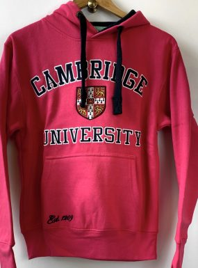 Original Cambridge University Hoody – SALE – Hot Pink
