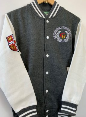 Cambridge University Wreath Baseball Jacket
