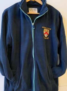 Wolfson College Full Zip Soft Fleece