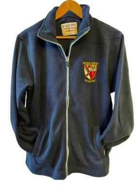 Darwin College Full Zip Soft Fleece