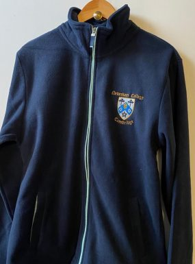 Newnham College Full Zip Soft Fleece
